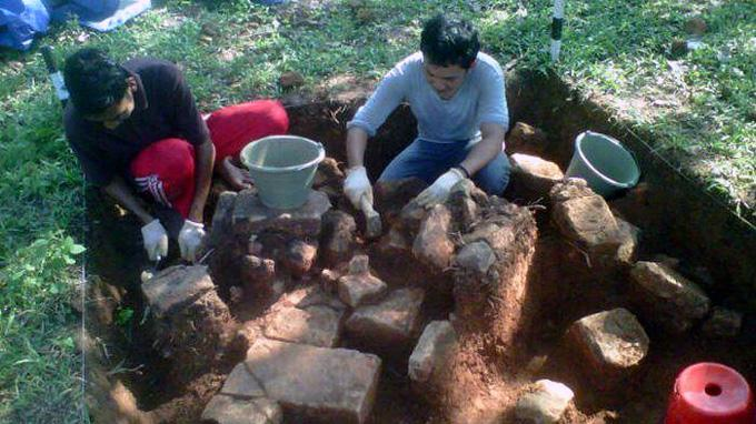 Susunan Batubata Kuno Bagian Kerajaan Sriwijaya Ditemukan