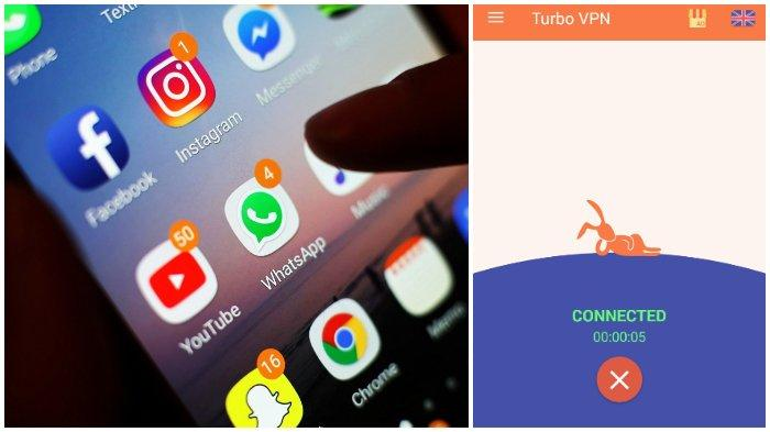 Instagram Down Whatsapp Masih Error Tak Bisa Kirim Gambar Coba Pakai 3 Aplikasi Vpn Ini Tribunnews Com Mobile