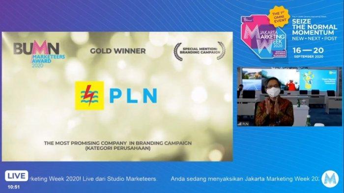 PLN Borong Penghargaan BUMN Marketeers Award 2020