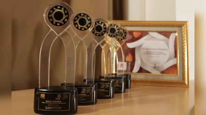 Boyong 25 Penghargaan,  Pertamina Raih Platinum Award di Ajang PR Indonesia Awards 2020