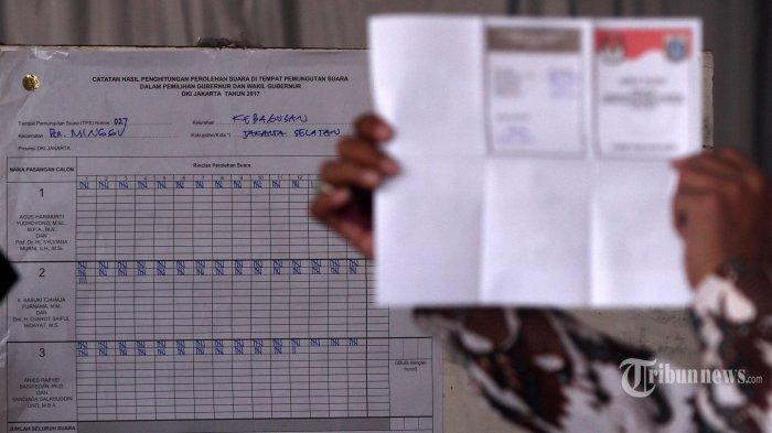 Hasil Situng KPUD DKI Jakarta Final, Ini Rincian Perolehan Suara Para Cagub