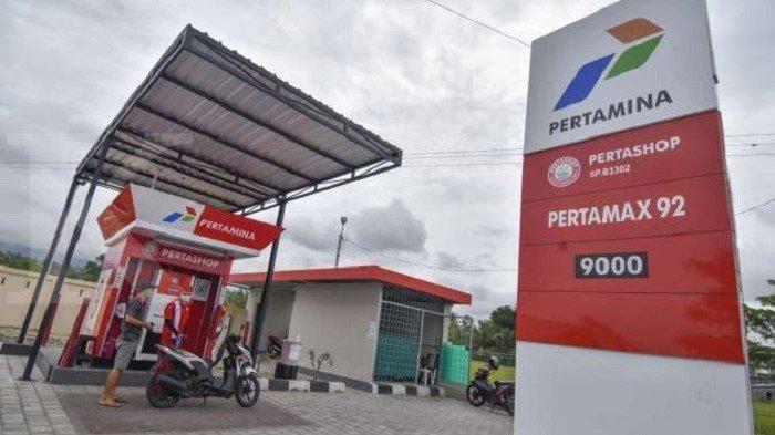 Pengisian BBM Pertamax di SPBU Pertamina