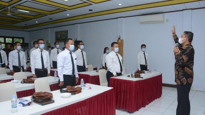 Kemenhub Gelar Pengukuhan Tiga Puluh Ahli Ukur Kapal