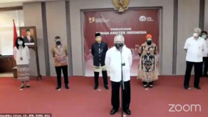 Menteri PUPR Kukuhkan 9 Anggota Dewan Arsitek Indonesia