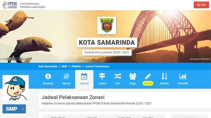 Pengumuman PPDB Samarinda 2020 di samarinda.siap-ppdb.com, Berikut Cara Cek Hasil Seleksi