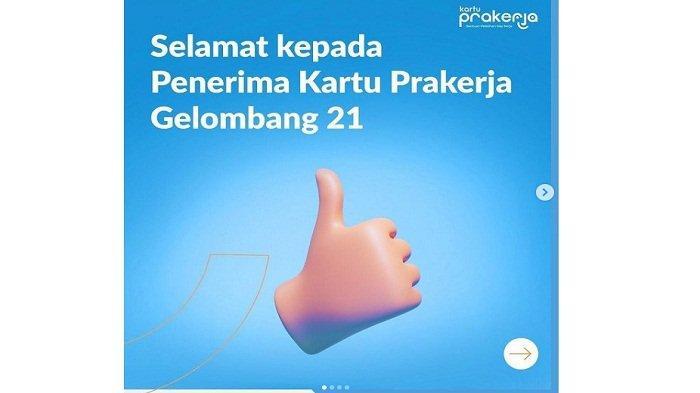 Pendaftaran Kartu Prakerja Gelombang 22 Dibuka? Daftar Hanya di www.prakerja.go.id