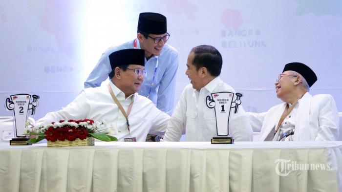 Saling Tuding Timses Jokowi-Ma'ruf Amin Prabowo-Sandi dan Wajan Raksasa