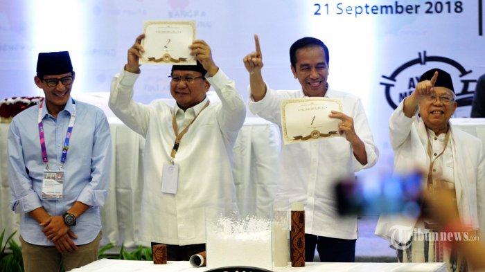 Jelang Debat Capres 2019, Persiapan Prabowo-Sandi Hingga Pembagian Peran Jokowi-Ma'ruf