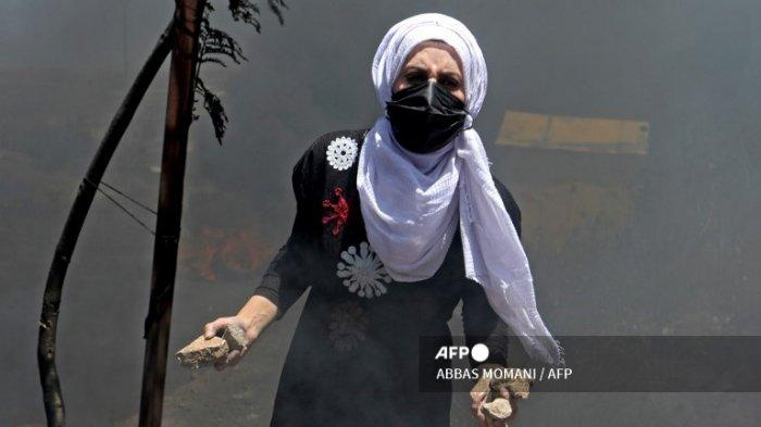 Bentrok di Pos Pemeriksaan Tepi Barat, Puluhan Warga Palestina Terluka oleh Tembakan Israel