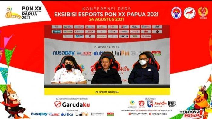 Live Streaming Youtube PB ESI & NiMO TV, Tonton Esports PON XX Papua 2021 Secara Gratis