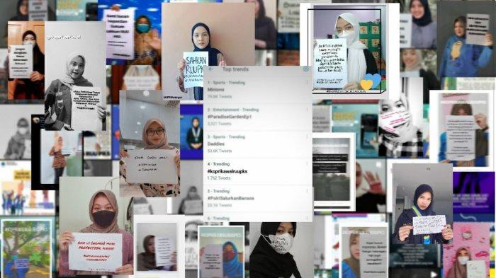 Serukan Pengesahan RUU PKS, Kopri PB PMII Gelar Aksi Online