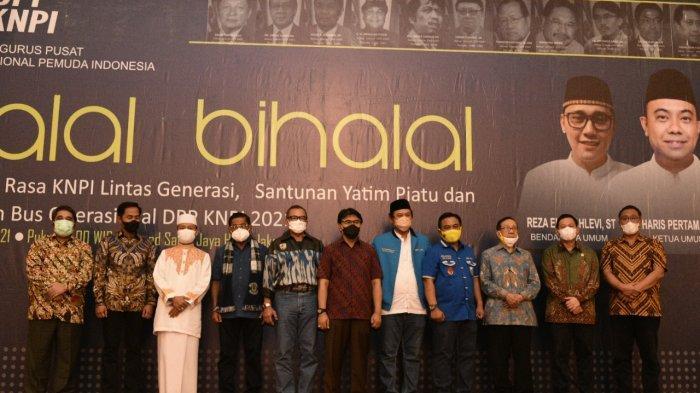 Halal Bihalal Dihadiri Sejumlah Mantan Ketua Umum, Haris Pertama Tunjukkan Kesolidan KNPI