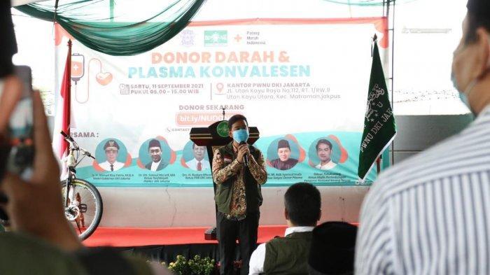 PWNU Jakarta Gelar Donor Darah, Dihadiri Wagub Riza dan Walikota Solo Gibran