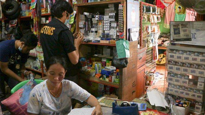 Gempur Rokok Ilegal, Bea Cukai Gelar Operasi Pasar di Tiga Provinsi