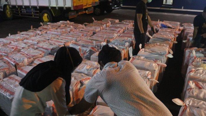 Tim Gabungan Bea Cukai dan Pomdam Amankan Rokok Bodong Senilai 1,3 Miliar