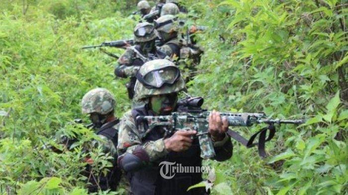 Satgas Paskhas TNI Kontak Tembak dengan KKSB di Area Bandara Ilaga Papua, 1 KKSB Tewas