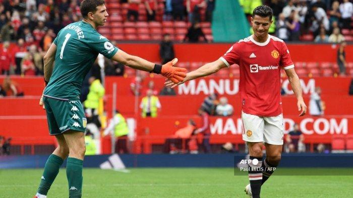 Ronaldo Tak Penuhi Tantangan Kiper Aston Villa, Tarian Rekan Senegara Messi Warnai Kekalahan MU