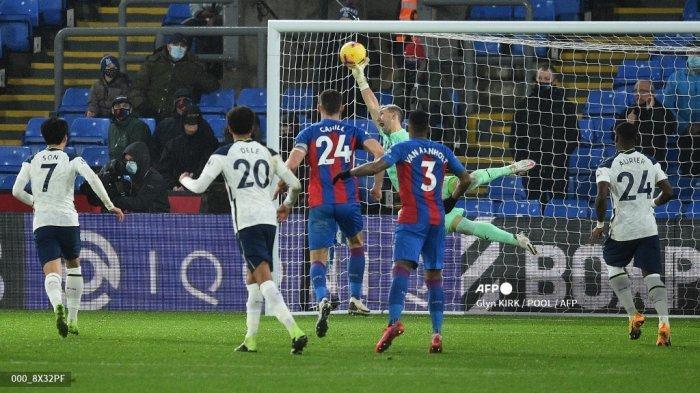 HASIL Liga Inggris Crystal Palace vs Tottenham, Roy Hodgson Puji Penampilan Guaita