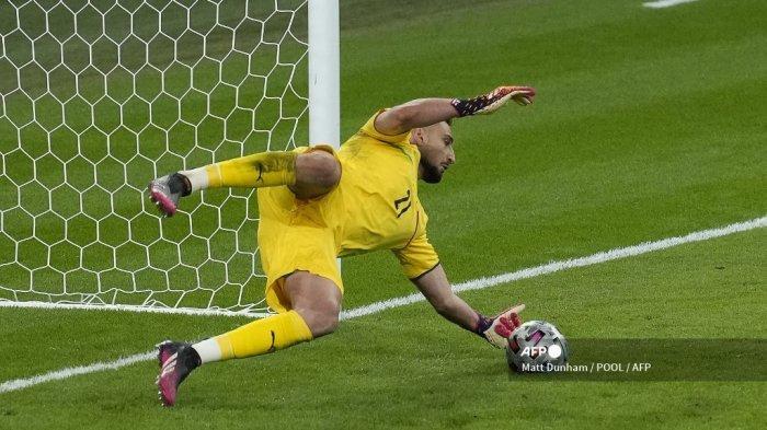 Hasil <a href='https://manado.tribunnews.com/tag/euro-2021' title='Euro2021'>Euro2021</a>: Ungkapan Donnarumma Usai Gagalkan Penalti Morata & Bawa <a href='https://manado.tribunnews.com/tag/italia' title='Italia'>Italia</a> ke Final Piala Eropa