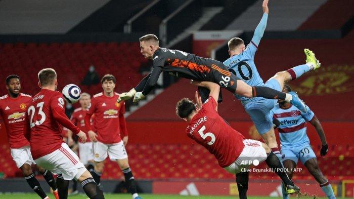HASIL Liga Inggris Manchester United vs West Ham - Skor Kaca Mata Hiasi Babak Pertama