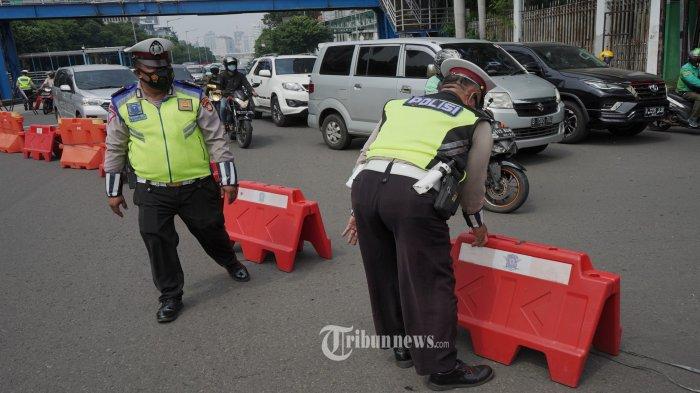 Antisipasi Demo 'Jokowi End Game', Polisi Siagakan 400 Personel dan Sekat Sejumlah Jalan