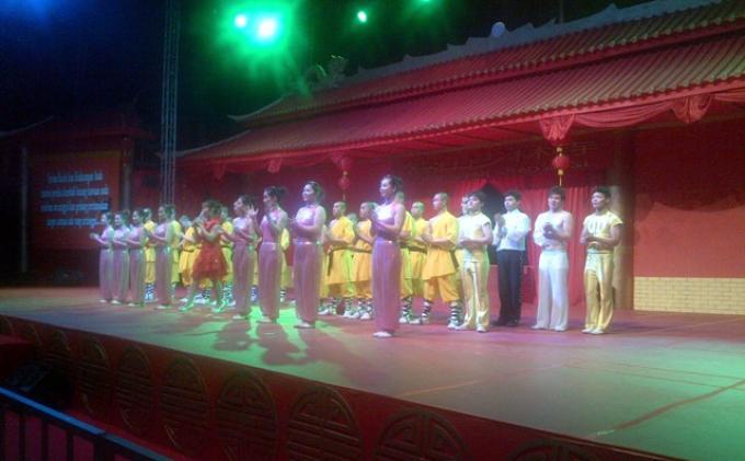 Asyik, Ada Pentas Kungfu dan Shaolin di Ancol