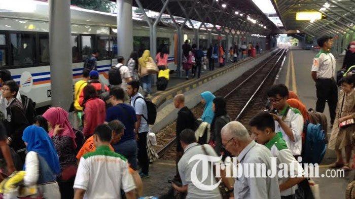 Tiket Gratis 10 Kereta Api Surabaya Khusus 17 Agustus