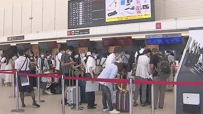 Jepang Libur 4 Hari, Penumpang Pesawat Kembali Ramai