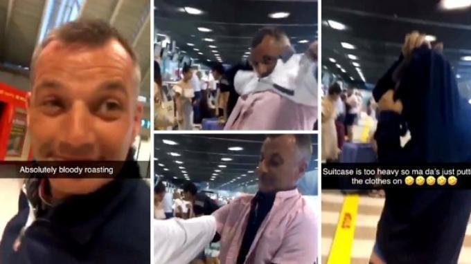 Viral Hari Ini, Penumpang Pesawat Nekat Pakai Baju Rangkap 15 Lapis, Gegara Tolak Bayar Biaya Bagasi