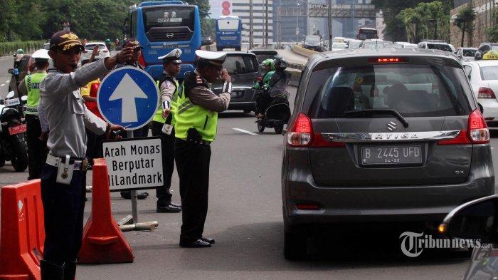 6.906 Kendaraan Terjaring Razia Larangan Mudik Di Wilayah Polda Metro, Semua Diminta Putar Balik