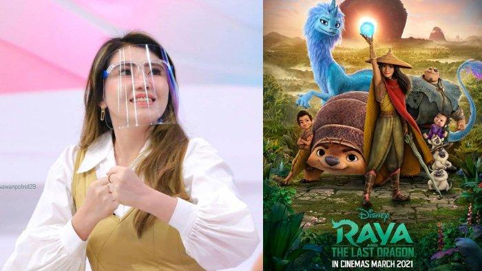 Via Vallen Merasa Spesial Bawakan  Soundtrack Film Animasi Raya and The Last Dragon Versi Indonesia