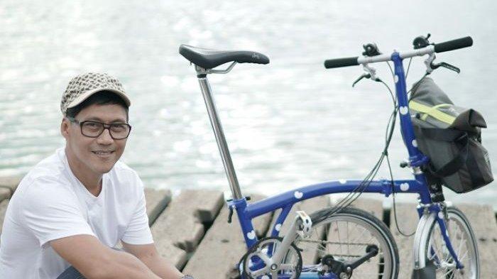Nugie Akui Bersepeda Menghemat Pengeluaran