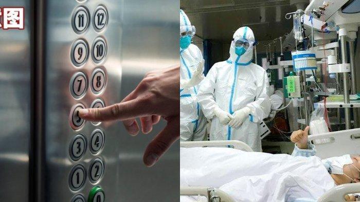 ILUSTRASI - Penyebaran Virus Corona Bisa Lewat Lift, Ahli Sebut Ruang Terbatas Paling Berbahaya