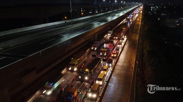 Polri Siapkan Rekayasa Lalu Lintas Cegah Kemacetan Imbas Posko Penyekatan Larangan Mudik