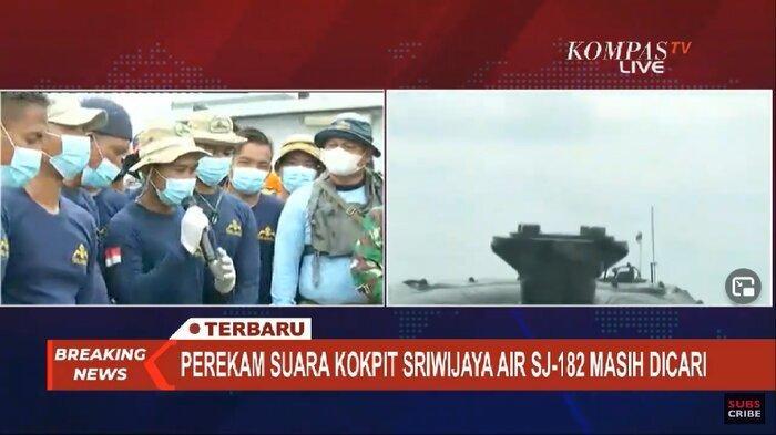 Cerita Penyelam TNI AL Saat Temukan Blackbox SJ 182: Kami Lihat Sebuah Kotak dalam Lumpur