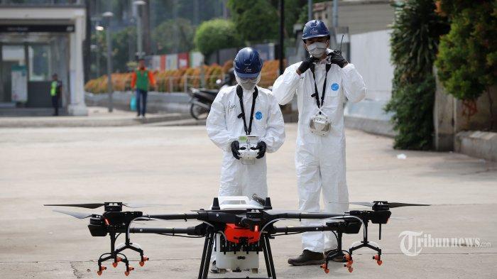 Teknologi Drone Bantu Analisis Dampak Bencana