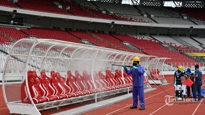 Protokol Kesehatan Ketat Laga Liga 1 2021, Tiang Corner di Empat Sudut Pun Wajib Disemprot