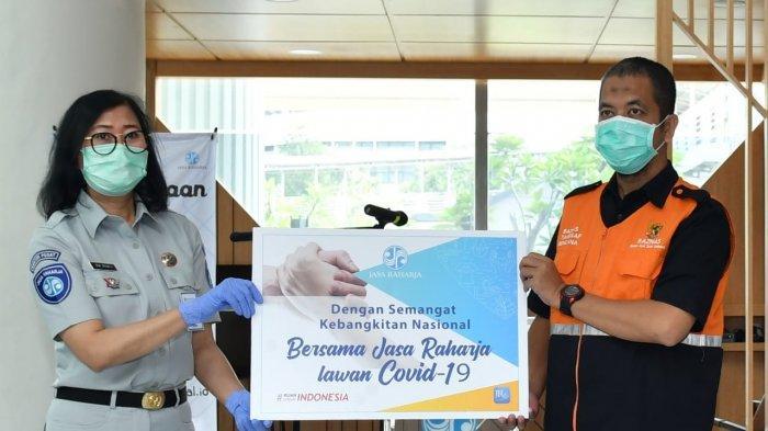 Jasa Raharja Salurkan Bantuan Terdampak Covid-19 Hasil Donasi Manajemen dan Pegawai