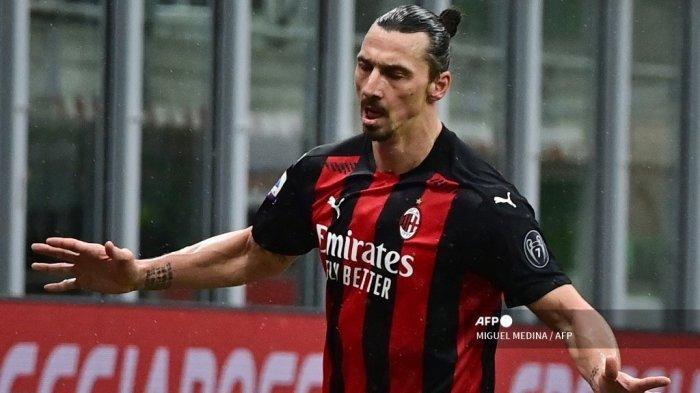 Hasil Liga Italia AC Milan vs Crotone, Komentar Ibrahimovic Usai Ceak Gol ke-501 dalam Kariernya