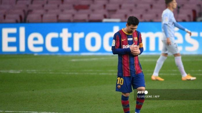 KALEIDOSKOP 2020 - Drama Lionel Messi di Barcelona, Kehancuran Lawan Bayern, hingga Isu Hengkang