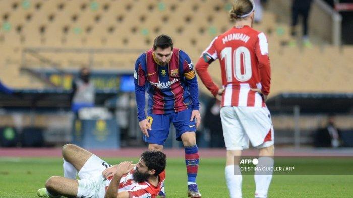 Video Trik-Trik Kotor Lionel Messi yang Luput dari Kartu Merah Wasit