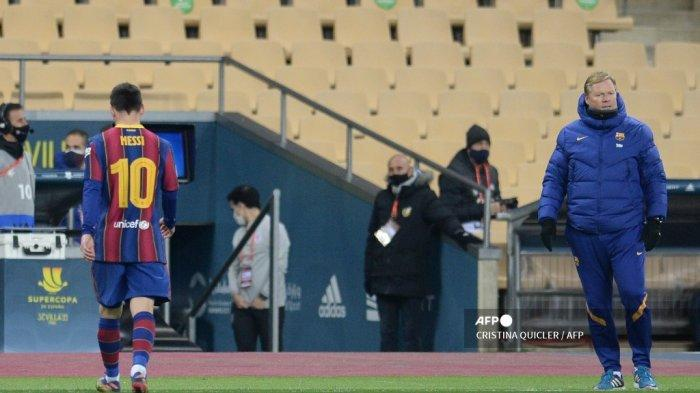 JADWAL Liga Spanyol Sevilla vs Barcelona, Manuel Asensi: Orang Ingin Bikin Lionel Messi Pensiun Dini