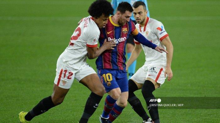 LIVE Streaming Liga Spanyol Sevilla vs Barcelona Malam Ini, Kick Off Pukul 22.15 WIB di beIN Sports