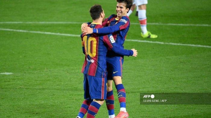 HASIL Liga Spanyol Barcelona vs Alaves 5-1, Lionel Messi-Francisco Trincao Cetak Dwi Gol