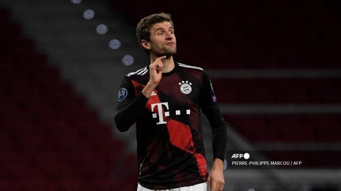 Hasil Atletico Madrid vs Bayern Munchen Liga Champions, Muller Selamatkan Die Roten dari Kekalahan