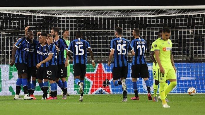 Hasil Liga Eropa Tadi Malam - Inter Milan dan Manchester United ke Perempat Final