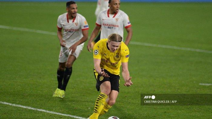 Dortmund vs Sevilla, Liga Champions: Duel Tim Beda Nasib, Erling Haaland Siap Beraksi