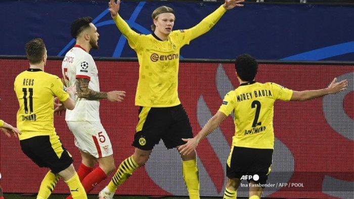 Reaksi Haaland Usai Bawa Dortmund Lolos 8 Besar Liga Champions, Sebut Kemenangan Gila