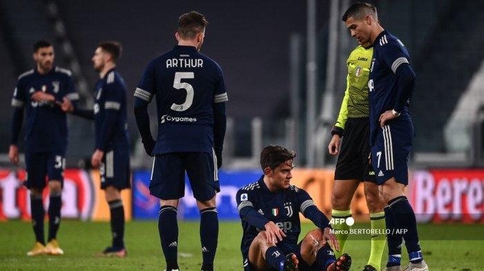 Hasil Juventus vs Sassuolo Babak I Diwarnai Kartu Merah dan Dua Pemain Si Nyonya Tua jadi Korban