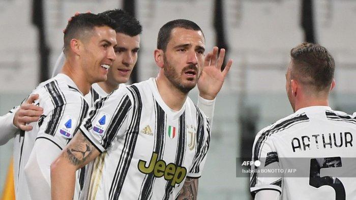 HASIL Juventus vs AS Roma Liga Italia Babak 1: Bianconeri Memimpin, Ronaldo Cetak Gol, Ini Videonya